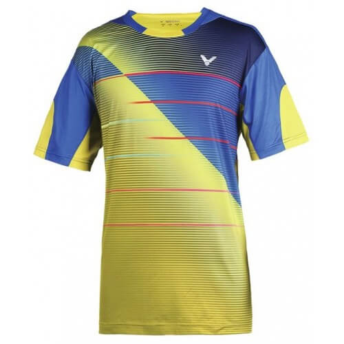 Victor Tee Shirt T 6000 Blue Yellow
