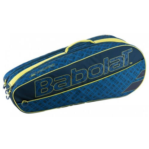 Babolat Racket Holder Classic Club Blue Yellow