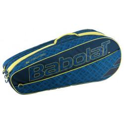 Babolat Racket Holder Classic Club Blue Yellow