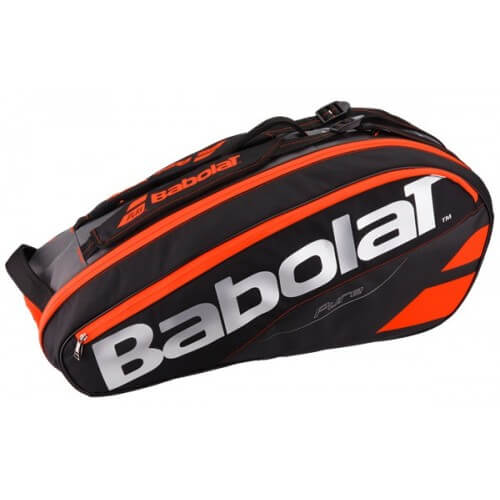 Babolat Racket Holder X6 Pure Black Red