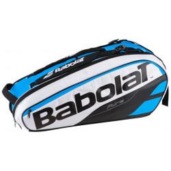 Babolat Racket Holder X6 Pure Blue White