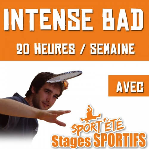 Sport'Eté Stage Intense Bad