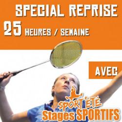 Sport'Eté Stage Spécial Reprise