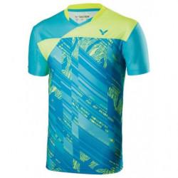 Victor Tee Shirt Men 70000 Blue Green