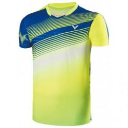 Victor Tee Shirt Men 70003 Blue Yellow