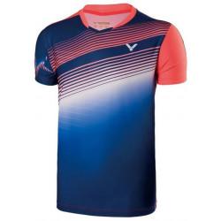Victor Tee Shirt Men 70003 Blue Orange