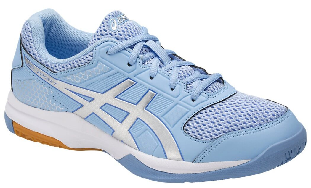 Badminton Rocket 8 Chaussures Women Asics Gel Blue CrxoBde