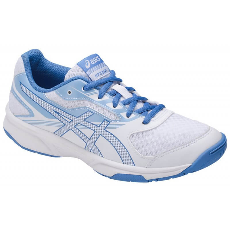 Asics Gel Upcourt Women White Blue