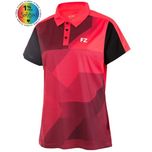 Forza Polo Penny Red