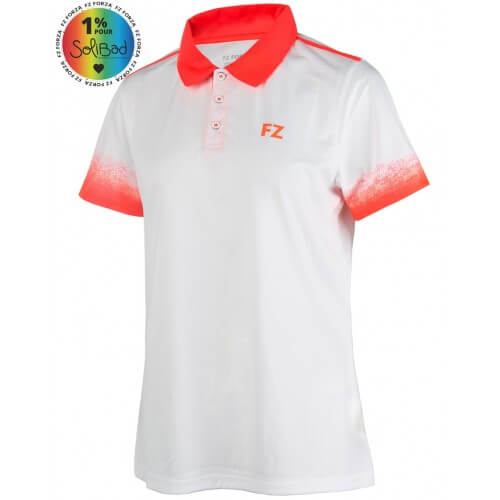 Forza Polo Dudley White Red
