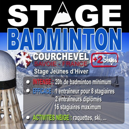 Stage Courchevel Avril 2018