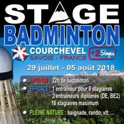 Stages Courchevel Eté (29 juillet/05 août 2018)