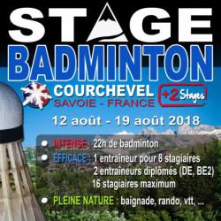 Stages Courchevel Eté (12/19 août 2018)