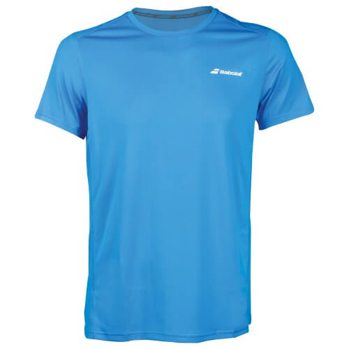 Babolat Flag Core Club Tee Men Diva Blue