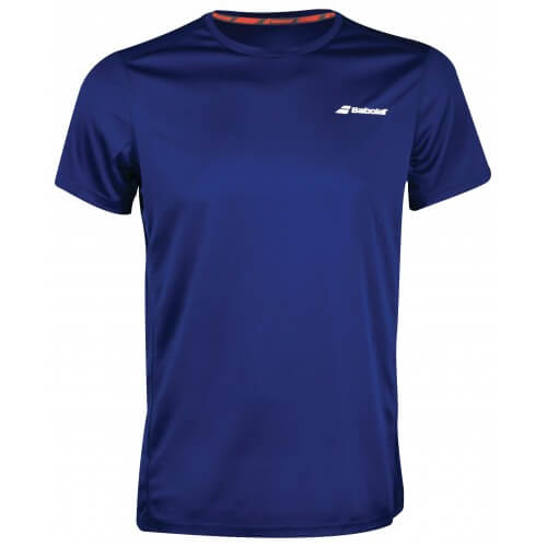 Babolat Flag Core Club Tee Men Estable Blue