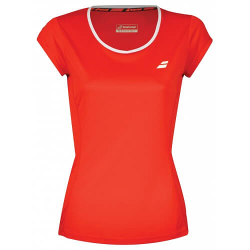 Babolat Flag Core Club Tee 201 8 Women Red