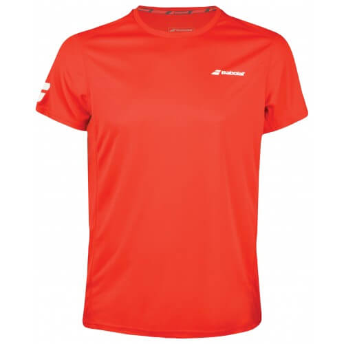Babolat Flag Core Club Tee 201 8 Boy Red