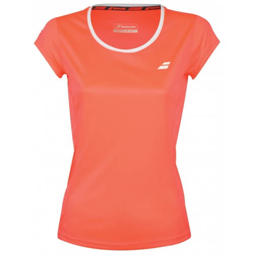 Babolat Flag Core Club Tee 2018 Girl Fluo Strike