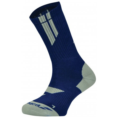 Babolat Chaussettes Team Big Logo Navy Blue