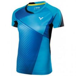 Victor Tee Shirt Women 71009 B Lue