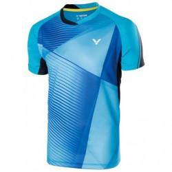Victor Tee Shirt Men 70009 Blu E