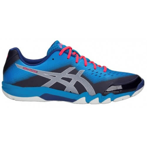 Asics Gel Blade 6 Men Blue Print Silver