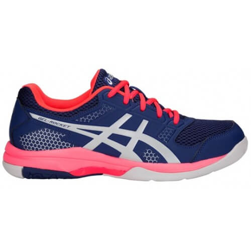 Asics Gel Rocket 8 Women Blue Print Silver