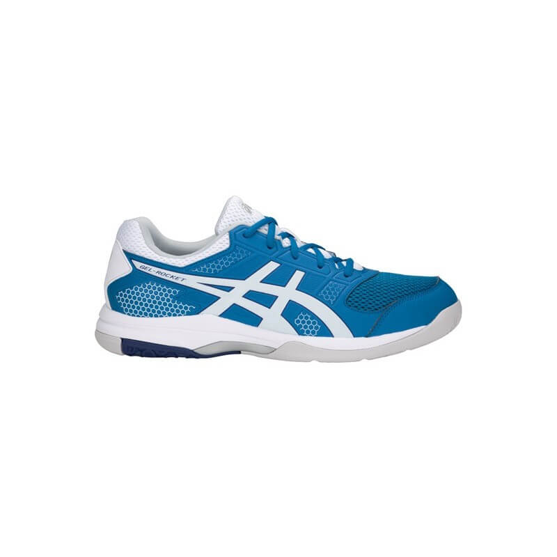 Asics Gel Rocket 8 Men Race Blue White