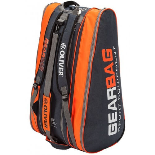 Oliver Gear Bag Black Orange 2018