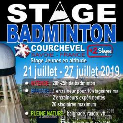 Stage Jeunes Courchevel Eté 2019