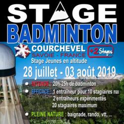 Stage Jeunes Courchevel 28 Juillet / 03 Aout 2019