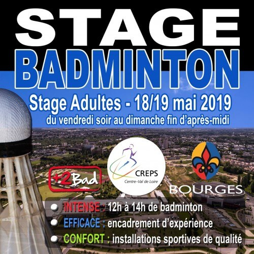 Stage Adultes Bourges 18/19 Mai 2019
