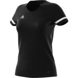 Adidas T-shirt Team Women Black