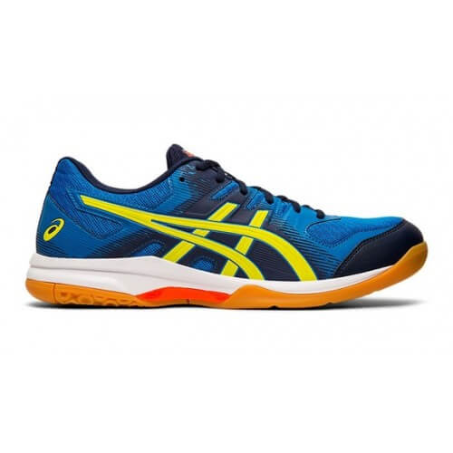 Asics Gel Rocket 9 Men Blue Sour Yuzu