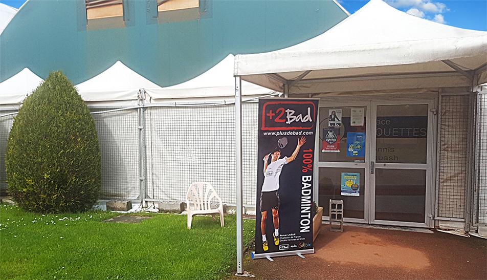 Magasin badminton Plusdebad Caen