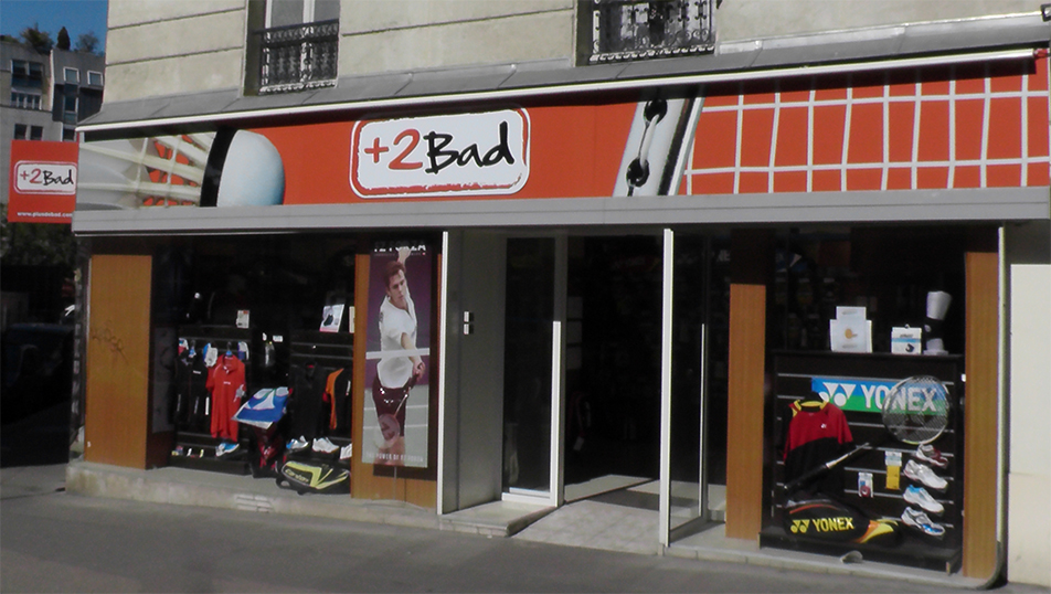 le magasin 2bad sp cialiste badminton paris place d 39 italie 2bad. Black Bedroom Furniture Sets. Home Design Ideas