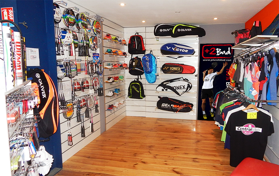 Magasin badminton Plusdebad Tours