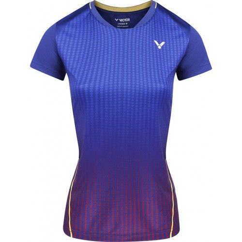 Victor T-shirt T-14101 B Women Blue