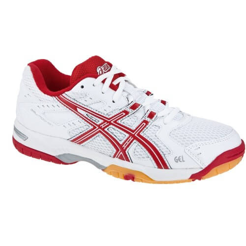 Asics Gel Rocket W White Red