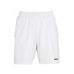 Babolat Short Match Core Boy 14 Blanc