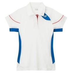 Yonex Polo Team Lady 2450 Blanc