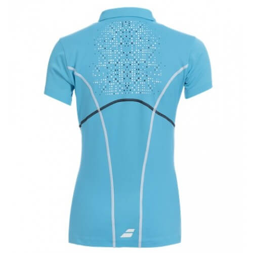Babolat Polo Match Perf Women 2015 Turquoise dos