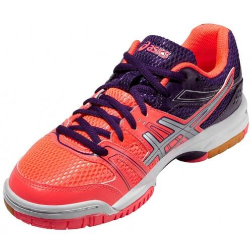 Asics Gel Rocket 7 Women Flash Coral
