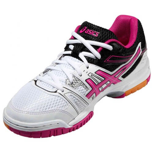 Asics Gel Rocket 7 Women White Magenta Black
