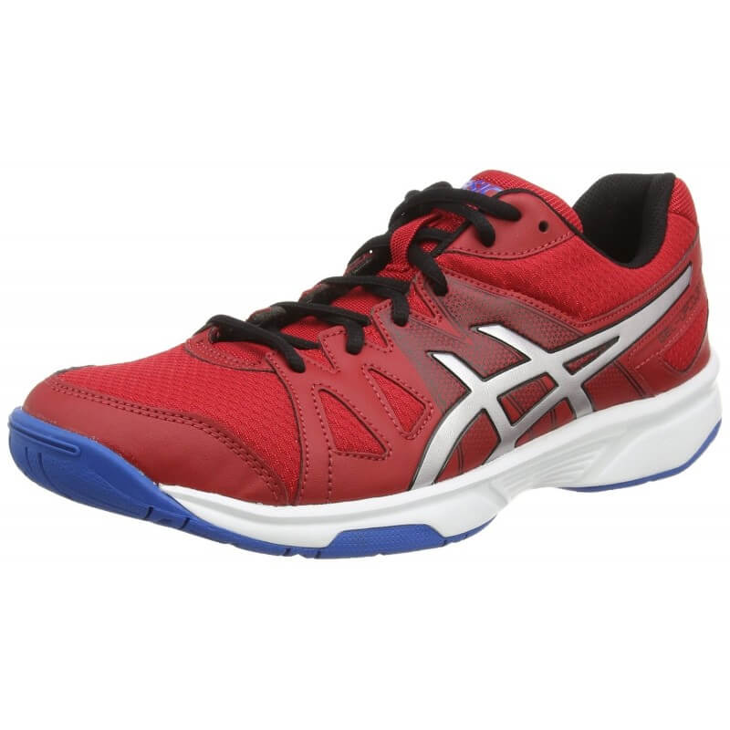 Asics Gel Upcourt Fiery Red Silver Electric Blue