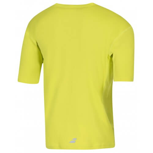 Babolat Tee Shirt Flag Core Men Lemon