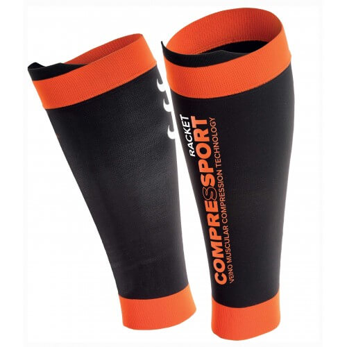 Compressport Racket Pro Silicon R2 Black Orange