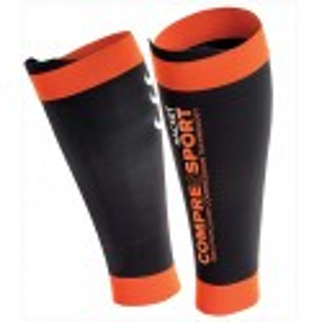 Compressport Racket Manchon de Mollet Pro Silicon R2 Black Orange