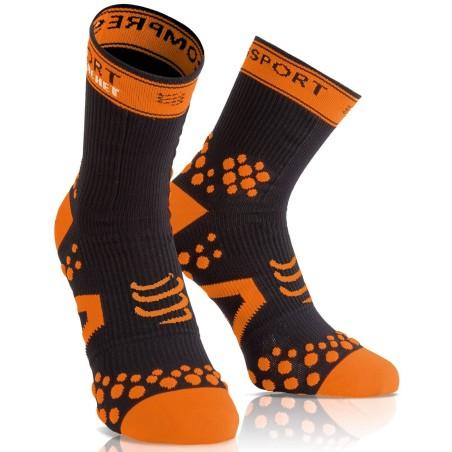 Compressport Racket Strapping Sock Black Orange