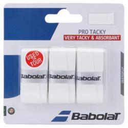 Babolat Pro Tacky Surgrip Blanc x3